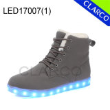 Winter LED Light up Boots with PU Leather Upper