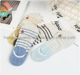 Sweety Heart Patten Logo OEM Anti-Slip Invisible Sock