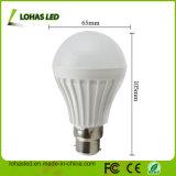 2017 China Supplier LED Plastic Bulb Light Ce RoHS Energy Saving LED Bulb Light High Power B22 7W SMD5730 LED Bulb