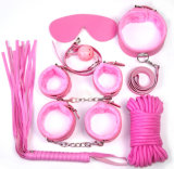 7sets Bdsm Leather Fetish Sex Toys Kit Sm Bondage Sex Toy for Couple