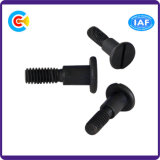 DIN/ANSI/BS/JIS Carbon-Steel/Stainless-Steel Slotted Shoulder Screw for Bridge and Railway