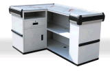 Checkout Counter Cash Register Showcase Display Cash Stand POS Unit Cash Counter 92111