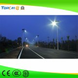 30W Integrated High Lumen IP65 Waterproof LED Road Solar Street Light