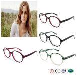 2016 Fashionable Eyeglass Frame Acetate Round Eyewear