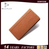 Fashion Design Factory Supply Business Handmade Genuine Leather Men Wallet