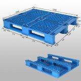 Plastic Pallet with 3 Runners Bottom, Open Deck, Rackable