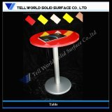 New Design Man Made Marble Dining Table Store Furniture