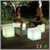 LED Light Cube Chair for Bar Garden Nightclub Hotel