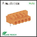 450 458 Femal Terminal Blocks with Angled Pin