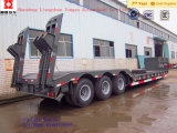 China Manufacturers Best Price 50t Heavy Duty Low Bed Semi Trailer
