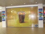 Eco-Friendly Self Adhesive Perforated Window Glass Film One Way Vision for Advertising