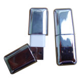 Metal Stick Shaped Business 64GB USB Flash Drive (EM207)