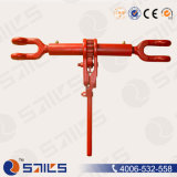 Red Painted Forged Ratchet Turnbuckle Load Binders with Jaw