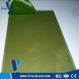 3-12mm Toughened Golden Reflective/Acid Etched/Low Iron/Figured/Patterned/Tinted Float/Wired/Laminated Glass for Building Glass