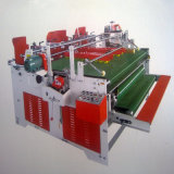 Semi-Automatic Press-Fit Gluing Machine/Manual Folder Gluer