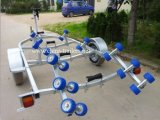 Galvanized Boat Trailer with Single Axle