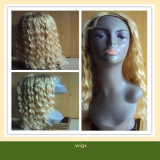 Curly Virgin Remy Brazilian Human Hair Lace Front Wig