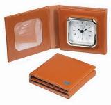 Leather Pocket Clock (KV703)