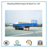 2 Axles Drop Side Semi Trailer