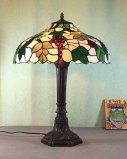 Art Tiffany Table Lamp 757