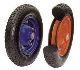 Non-Puncture Carefree Wheel for Barrow for Tools