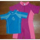 Children′s UV-Proof Swimwear, UV-Protective Rash Guard Surf Wear Beachwear (LS-6001)