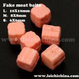 Small Carp Fishing Fake Pork Meat Baits