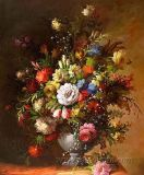 Old Classical Flower Oil Painting