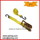 "1"" X 10′ W/ S-Hook Ratchet Strap (Customized)"