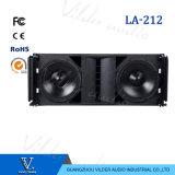 La-212 Professional 2-Way Double 12′′ PA System Line Array Speaker