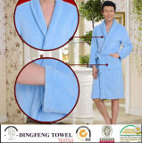 Super Soft Solid Color Coral Fleece Bathrobe Df-8821