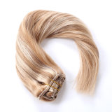 Clip in/on Remy Keratin European Human Hair Extension