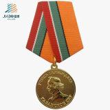 30mm Factory Decoration Alloy Casting Trophy Custom Gold Souvenir Medallion
