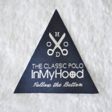 The Classic Specially Shape Woven Labels Foe Outdoor Clothing