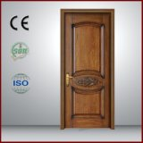 Finished Surface Design Solid Wood Techtop Entry Door Made in China