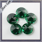 Factory Competitive Price Dark Emerald Color CZ Gemstone for Jewelry