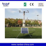 Factory Sale LCD Display Solar GPRS Weather Station