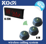 Wireless Call System to Waiter Bartender Nurse
