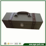 Special Design Luxury Handmade Rectangle Wooden Suitcase