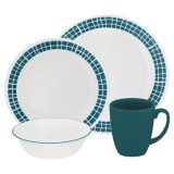 High Quality Ceramic Glaze Dinnerware Dinner Set Aqua