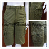 Camouflage Solid Cotton Color Casual Cargo/Leisure Pants for Man