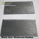 Black Slate Mushroom Tile Wall Decorative Covering Mushroom Tile Slate Tile