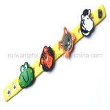 Soft PVC Rubber Kids Bracelet (BR028)