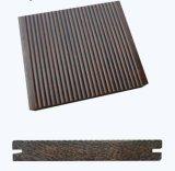 Thin Wave Strand Woven Bamboo Floor