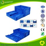 Factory High Quality Turnover Box Collapsible Multi-Use Foldable Plastic Crate