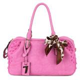 Elegant Stud and Hang Tag Lady Leather Handbags (MBNO032094)