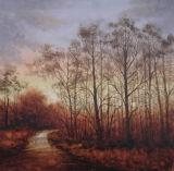 Forest Landscape Oil Painting