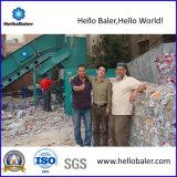 Automatic Horizontal Hydraulic Waste Paper Baler Machine with Conveyor