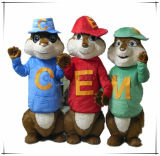 Happy Chipmunks Family Chipmunks Mascot Costume Adult Size
