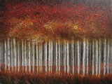 Mangrove Forest Oil Painting (LH-700041)